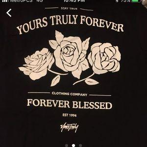 shirts phora yours truly clothing tshirt poshmark